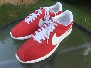 Disturbio Copiar Tubería  Nike Roshe Red Sneakers for Men for Sale | Shop Men's Sneakers | eBay