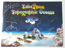 Yes Signed Tales From Topographic Oceans 2016 Tour VIP Poster