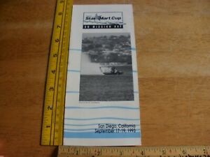 1993 Power Boat Racing Star Mart Cup APBA Pamphlet Mission Bay