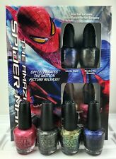 Opi Nail Lacquer The Amazing Spider-man Minis 4 Mini Nail Polish 3.75ml - 1/8 fl