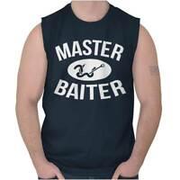 Master Baiter Funny Shirt | Fish Gift Idea Sporting Good Lure Sleeveless T Shirt