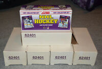 1991-92 Score Hockey Factory Set US Edition 440 cards 5 count lot NEW 62401