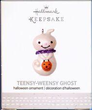 2017 Hallmark Keepsake Teensy Weensy Ghost Miniature Halloween Ornament Mini Nib