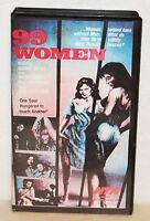 99 WOMEN - CULT PRISON MOVIE VHS * RARE * JESS FRANCO