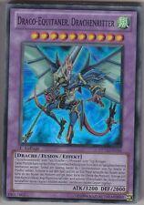 YU-GI-OH Draco Equitaner Drachenritter Super Rare DP10-DE016