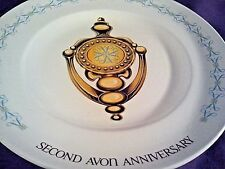 """The Avon Doorknocker"" - Wedgwood England - Avon Rep Second Anniversary Plate"