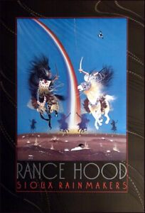 """Rance Hood """"Sioux Rainmakers"""" Offset lithograph free shipping Make an offer"""