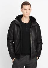 VL NWT VINCE GENUINE HOODED MEN SHEARLING JACKET SIZE L $1,495