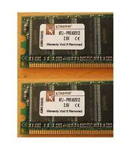 KINGSTON KFJ-PRE40/512 1GB DDR2 (2X512MB) ECC 240 PIN  PC3200 2,5V NUOVO NEW