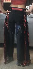used western leather chaps