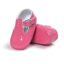 Bebé Recién Nacido Bebé Niño Niña Piel Zapatos Cuna Suela Blanda Antes De Andar