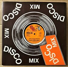 "Gregory Isaacs & Trinity  ‎– Chunnie You Are The Number 12"" Vinyl 45RPM Ex Con"