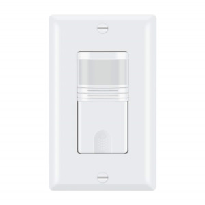 ECOELER 3 Way Motion Sensor Light Switch, Neutral Wire Required, Multi-Dual for