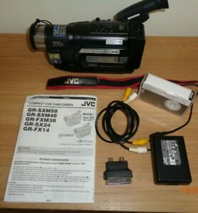 JVC GR-FX14 Compact VHS [VHS-C] Camcorder - Time Base Corrector [TBC]
