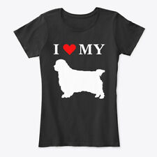 I Heart My Clumber Spaniel Dog Women's Premium Tee T-Shirt