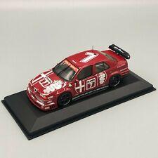 Minichamps 1/43 Scale Alfa Romeo 155 V6 TI DTM 1993 Nannini 930120