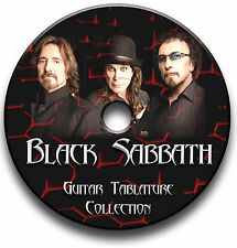 BLACK SABBATH ROCK METAL GUITAR TAB TABLATURE SONG BOOK SOFTWARE CD BEST OF