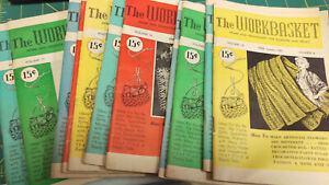 Workbasket Magazine 1951 You Pick Month Vintage Magazine Recipes Crafts & More