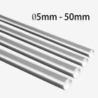 Ø5-50mm Chromed 45# Steel Round Bar Hardened Rod Rail Linear Shaft Optical Axis