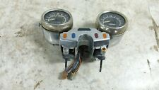 84 Yamaha XV 1000 XV1000 Virago gauges speedometer tachometer dash meters