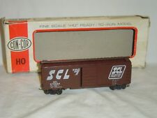 Con-Cor #H-806 HO Scale Seaboard Coast Line 40' Boxcar #678934 with KD Couplers