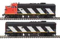 Spur H0 - Diesellokset F7 AB Canadian National mit DCC + Sound -- 40909 NEU