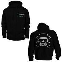 BREAKING BAD Mens Hoodie Sweater Sweatshirt Hooded Heisenberg Walter White NEW