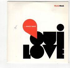 (FQ144) Various Artists, Oui Love - 2010 Music Week CD