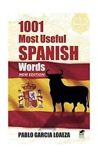 1001 Most Useful Spanish Words NEW EDITION (Dover Language Guid... Free Shipping