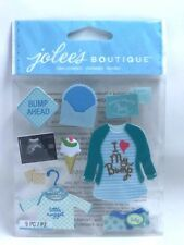 Jolee's Boutique BABY GIRL PREGNANCY Dimensional Stickers