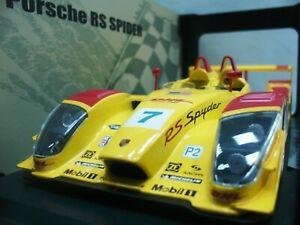 WOW EXTREMELY RARE Porsche RS Spyder 2006 #7 12hrs Sebring 1:18 Norev-Spark/962
