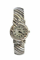 Urban Silver Plated Ladies Bracelet Bangle Watch Vintage Strap Analog Quartz