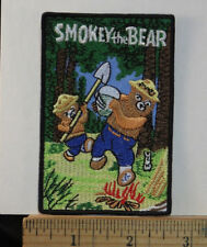 """Smokey The Bear,  Embroidered Iron-on Patch 3.5x2.5"""""""