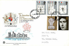 1 JULY 1969 PRINCE OF WALES INVESTITURE STUART FIRST DAY COVER CROYDON FDI