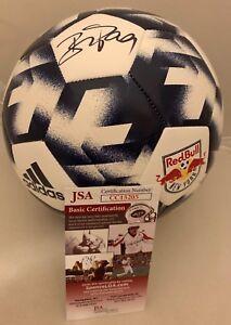 Bradley Wright-Phillips signed Full Size New York Red Bulls Logo Soccer Ball JSA