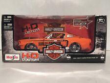 1/24 1967 FORD MUSTANG GT MAISTO HARLEY DAVIDSON *BRAND NEW & VHTF*