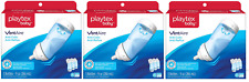 Playtex Baby VentAire Anti-Colic,Air Free, Semi Upright Feeding, 9 oz, 9 Count