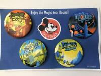 Disney 2016 AP Days Annual Passholder Set of 4 Buttons Pins