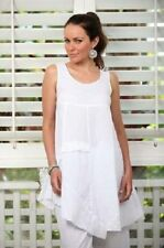 Regular Solid Tunic Sleeveless Tops & Blouses for Women
