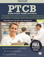 PTCB Exam Study Guide 2015-2016    by Trivium Test Prep