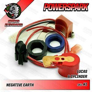 Powerspark Elektronische Zündung Set Für Lucas 22D6 & 25D6 Verteiler
