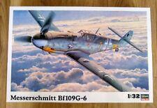 HASEGAWA WW2 German Luftwaffe Messerschmitt Bf109-G6. 1:32nd Scale