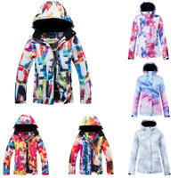 Women's Ski Suit Snowboard Jacket Coats Waterproof Winter Outdoor Warm Snowsuits