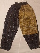 KUSNADI IKAT/MUD CLOTH COMBINATION PANTS
