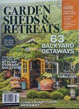 Garden Sheds & Retreats 2017 63 Backyard Getaways Storage FREE SHIPPING sb