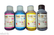 UNIVERSAL INK REFILL KIT PRINTER CARTRIDGE HP CANON LEXMARK REFILL 100 ML x 4 ★★