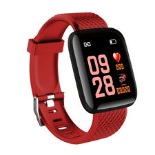 IP67 Montre Smart Watch Intelligente Barcelet Connectée Bluetooth 4.0 Rouge ME