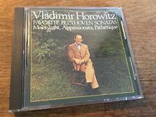 Beethoven - Sonatas [CD Album] CBS SONY Japan  Vladimir Horowitz