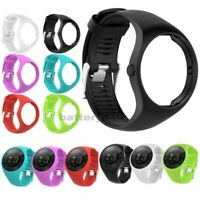 Silicone Replacement Band Wrist Strap Bracelet For Polar M200 GPS Running Watch