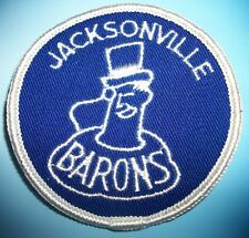 Jacksonville Barons Ice Hockey Team Patch Patches Vintage New AHL Minors 1972-74